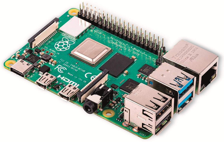 Raspberry Placa Base PI 4 Modelo B / 4GB SDRAM