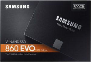Samsung 860 evo , link a amazon