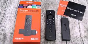 Caja Fire TV Stick 4k de amazon