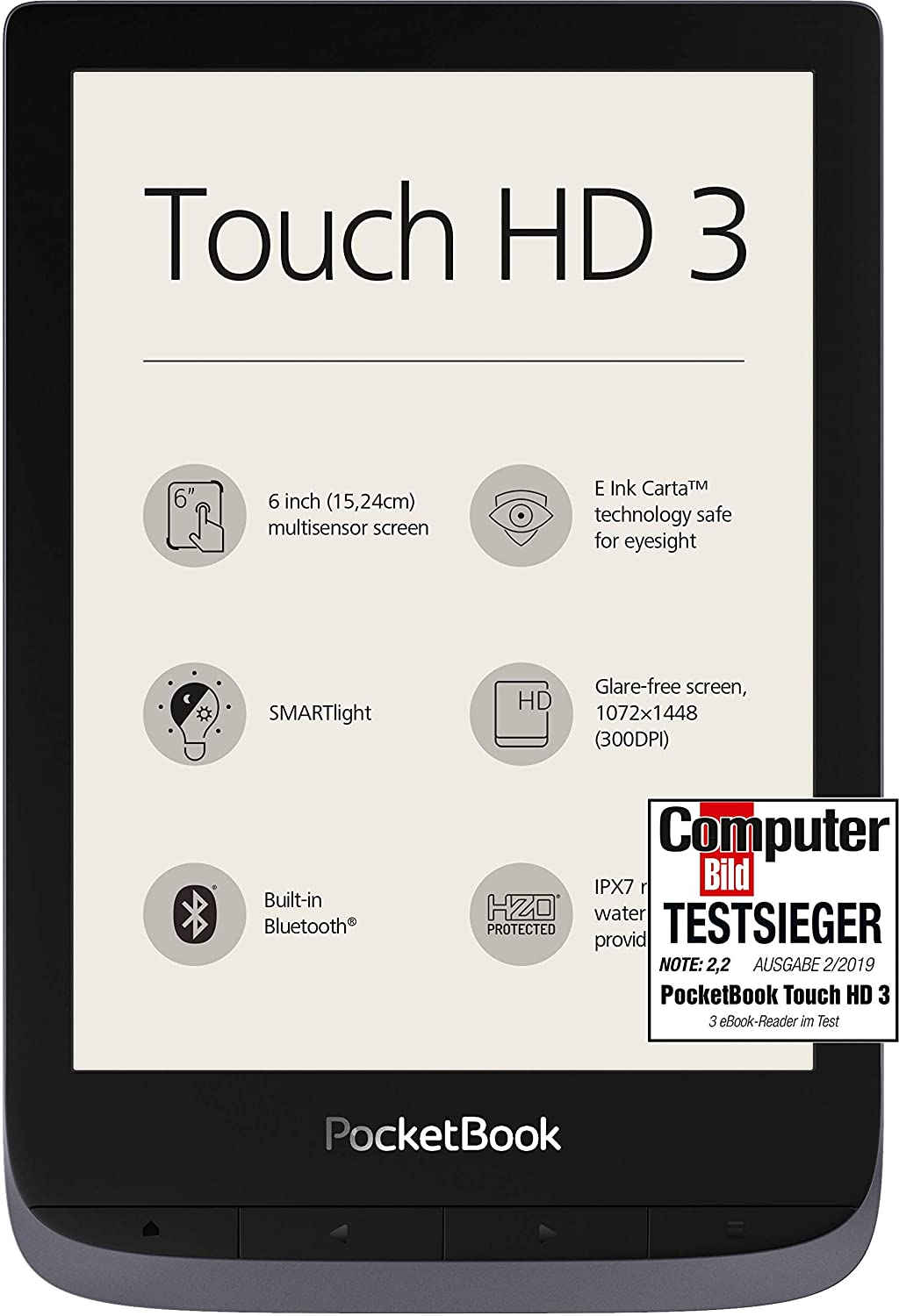 Pocket book hd touch 3