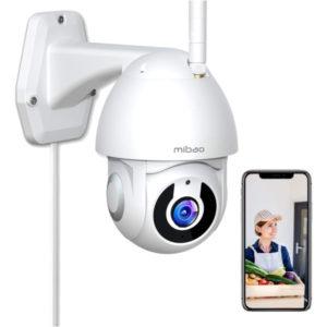1296P Camara de Vigilancia Interior o Exterior Mibao WiFi Camara con Vista panoramica 300x300 - Cámaras mini