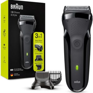 Braun Series 3 ShaveStyle 300BT afeitadora electrica para hombres con piel delicada 300x300 - Afeitadoras mini