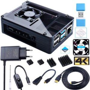 Bruphny Caja para Raspberry Pi 4 e1618570222673 300x300 - Carcasas para Raspberry PI 3/4