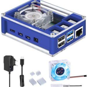 GeeekPi Raspberry Pi 4 Caja con Ventilador e1618570193780 300x300 - Carcasas para Raspberry PI 3/4
