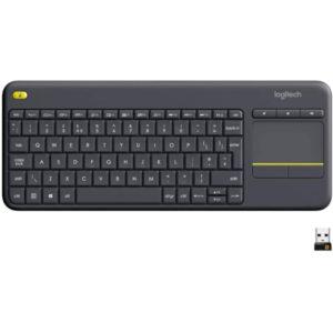 Logitech K400 Plus Teclado Inalambrico con Touchpad e1618936189434 300x300 - Teclados mini