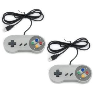 QUMOX 2 x Nintendo Juego de PC Gamepad e1618570175884 300x300 - Mandos para consolas mini