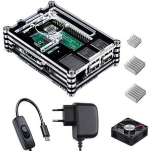 Smraza para Raspberry Pi 3 b Caja con Cargador de 5V 300x300 - Carcasas para Raspberry PI 3/4
